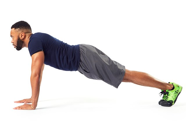 Start with a basic plank and go from there.