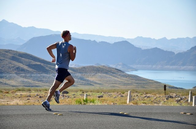 Running or jogging will build aerobic capacity.