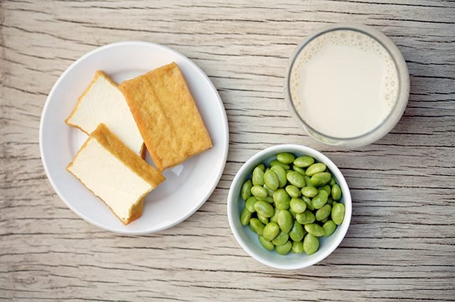 At least 93% of soy grown in the U.S. is genetically modified.