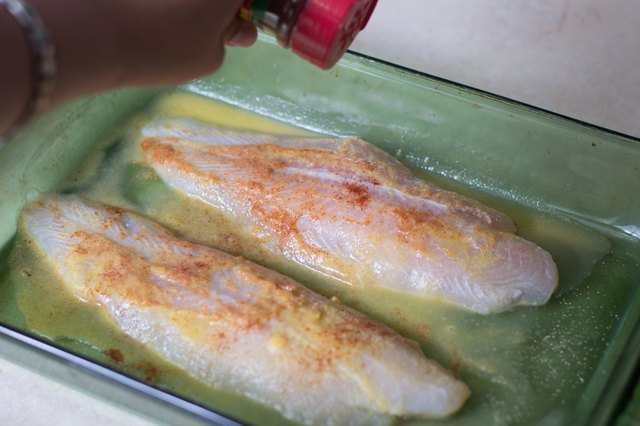 How to bake swai fish in the oven livestrong com for Swai fish fillet