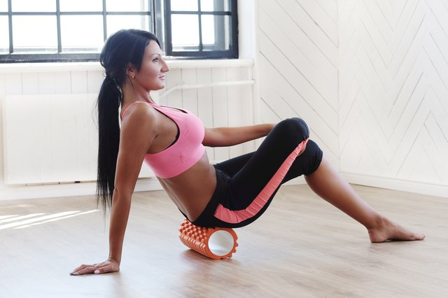 "Foam rolling is a ""hurt so good"" way to release muscular tension."