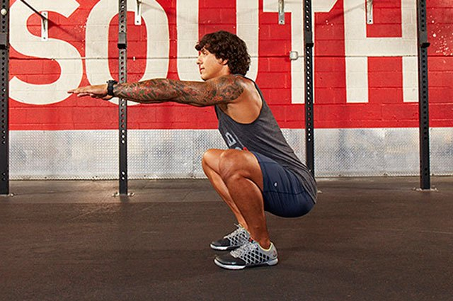 If your squat sputters, you need to work on your flexibility.