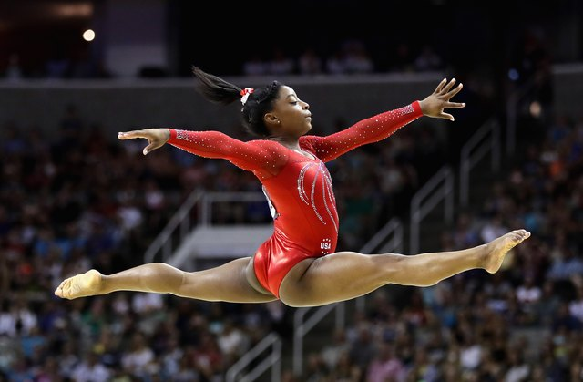 Simone already has 10 World Championships gold medals under her belt.