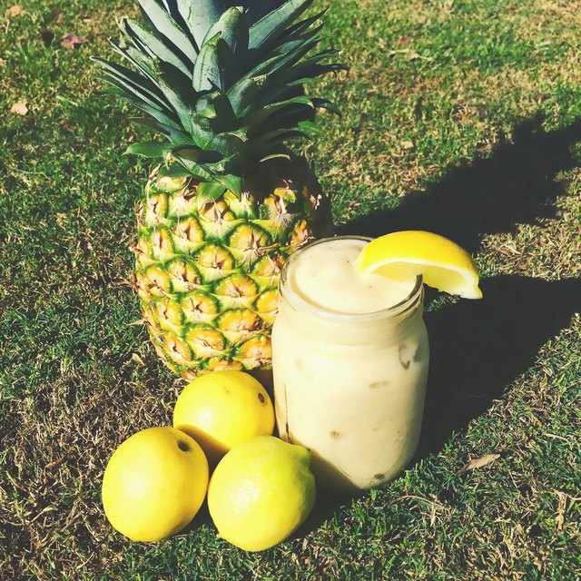 Pineapple adds zing to this classic summertime flavor.