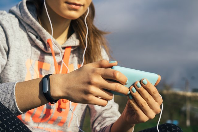 Wearing a fitness trackers lets you know exactly how many steps you're taking each day.