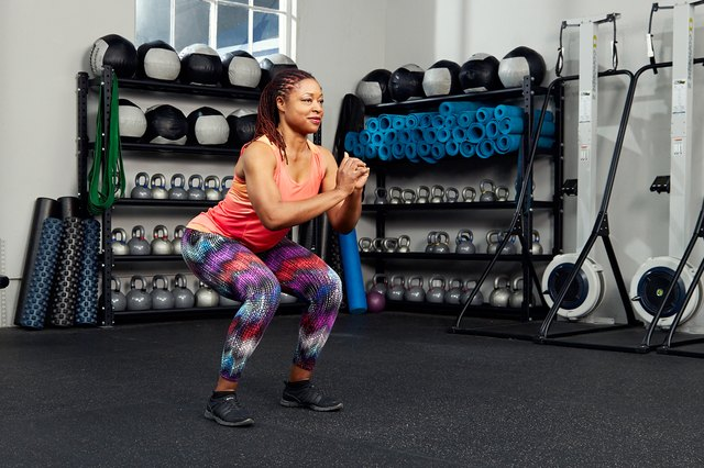 Squats are one of the most basic—but most effective—exercises.
