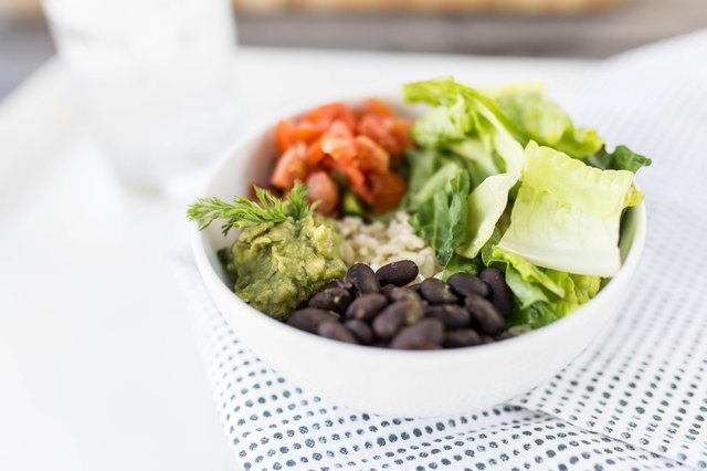 Opt for a burrito bowl and save some for later.
