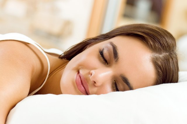 Not to say that you should sleep in your makeup - but research has found that women who wear makeup two or more days per week gets higher quality sleep.