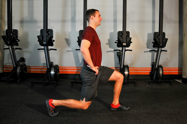 Lunges hit every muscle in your lower body.