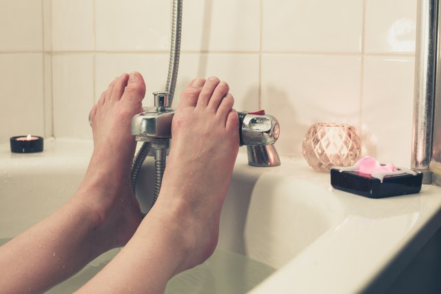 Washing your feet regularly with soap and water is one of the most important things you can do to avoid odor.