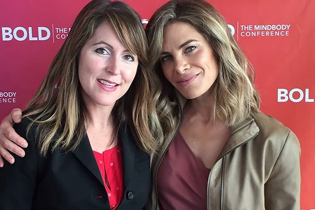 LIVESTRONG GM Jess Barron spoke with fitness expert and wellness coach Jillian Michaels at the BOLD Conference in Hollywood.