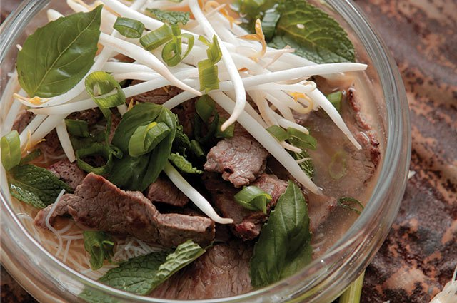 This beef pho is perfect for chilly nights.