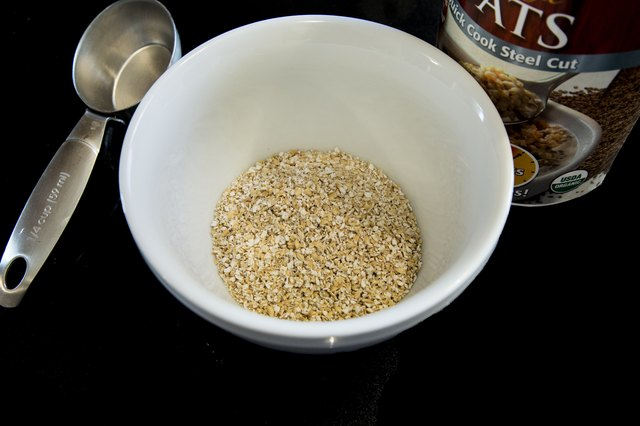Step 1 Measure Out The Steel Cut Oats