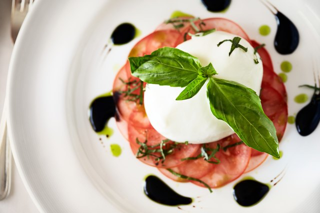 Caprese is a tasty, healthy appetizer option.