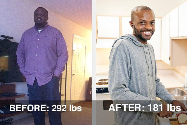 Robert lost 111 pounds and dropped four pant sizes!