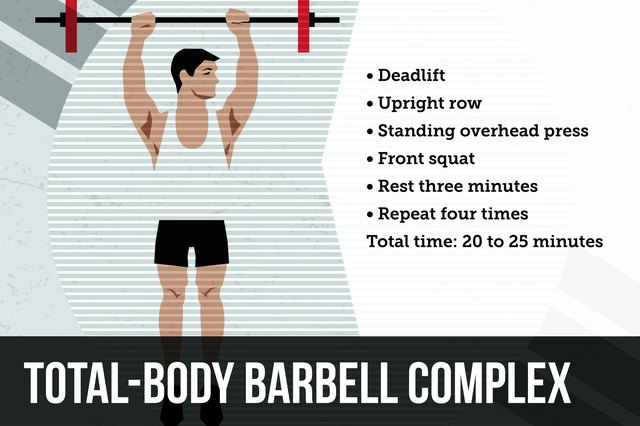 Get a barbell, find some open space and be prepared to work hard.