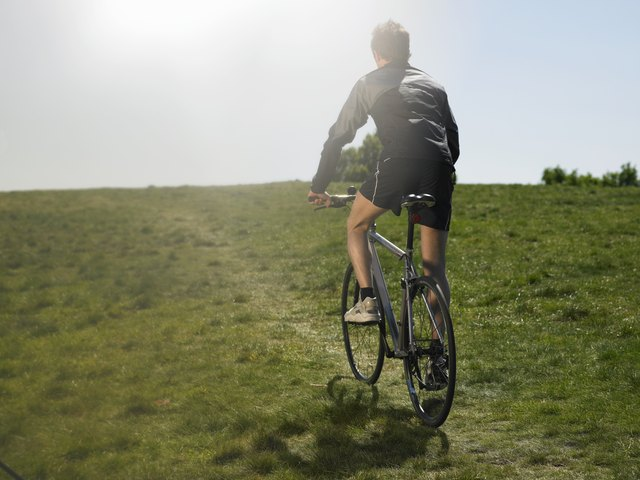 Running or biking up a hill significantly increases your caloric expenditure.
