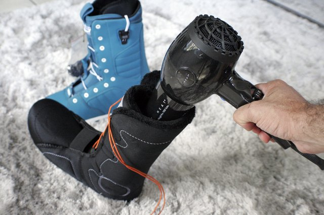 How To Mold Snowboard Boots Livestrong Com