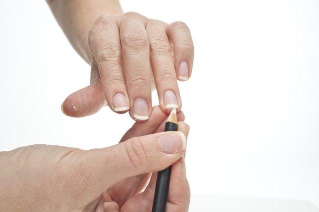 Step 5 Use A White Nail Pencil