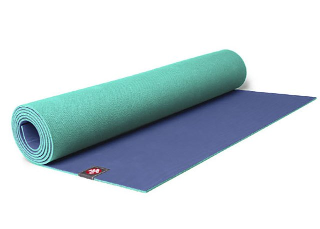 Manduka mats work great for sweaty yoga routines, such as Bikram.