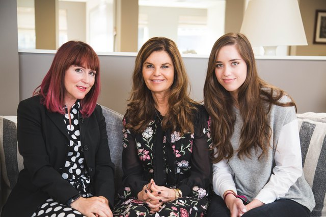 LIVESTRONG Editor-in-Chief Jess Barron met with journalist and author Maria Shriver and her daughter Christina Schwarzenegger.