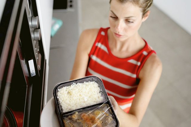 Relying solely on packaged meals can cheat your body of proper nutrition.