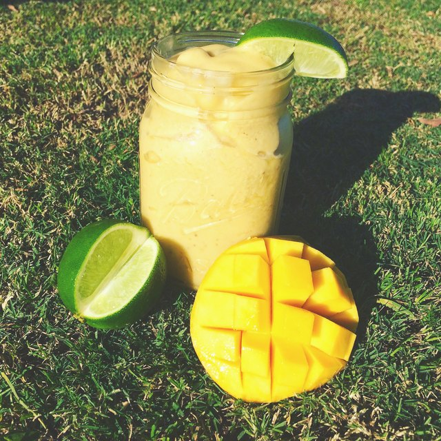 Add mangos and lime for a tropical treat.