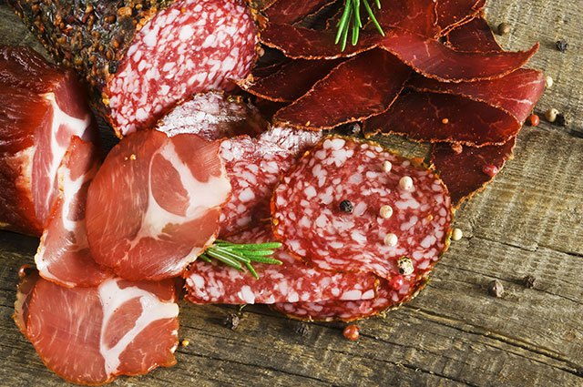 Dextrose can also be found in savory foods, like cured meats.