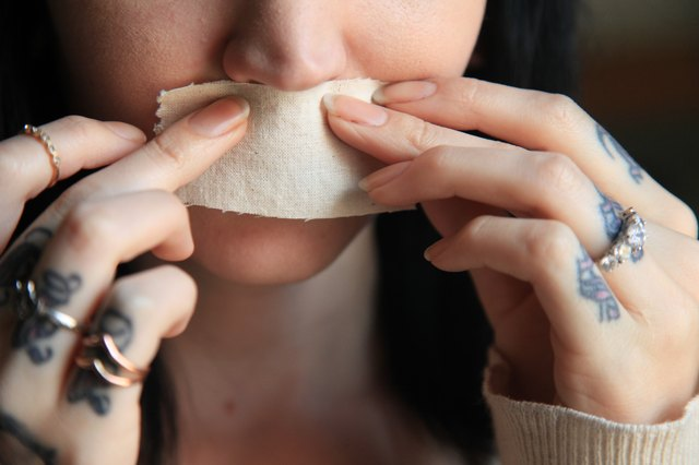 How to wax upper lip at home with homemade brown sugar wax press down on the sugar wax mixture on your upper lip immediately with a square of thin cotton cloth let the mixture sit for one minute pressing the cloth solutioingenieria Choice Image