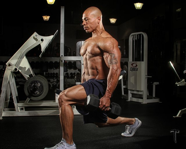 Lunges are one of the best lower-body exercises you can do.