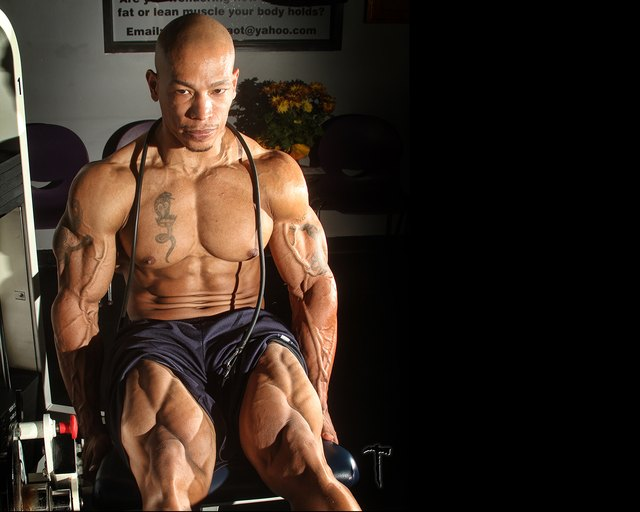 Leg extensions isolate your quads for killer legs.
