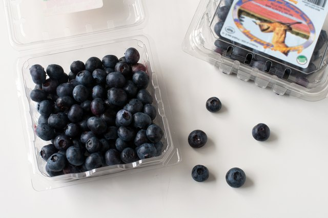What Is A Serving Size Of Blueberries Livestrong Com
