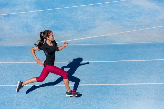 Take your sprinting skills from the track to the treadmill.