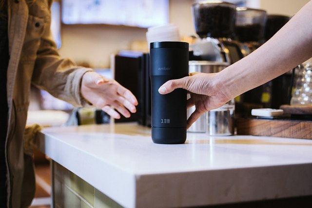 Ember's app will tell you when your coffee has reached the desired temperature and how much liquid is left in the mug.