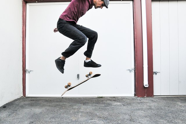 What Was The First skateboard trick - answers.com