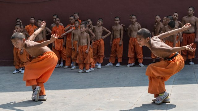 Kung-fu can be learned by young and old.