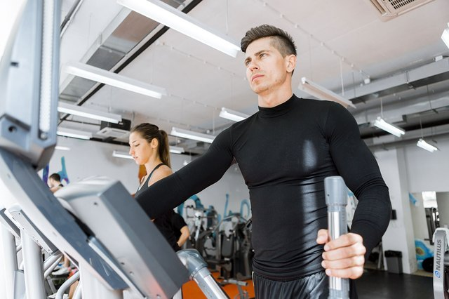 Make sure you're using the elliptical with proper form.