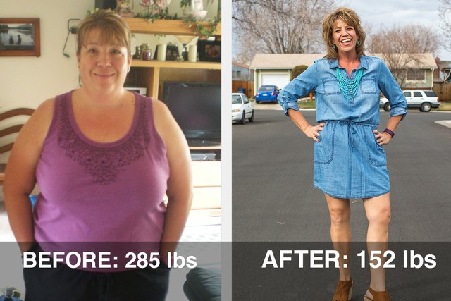 Julia lost 133 pounds and dropped 7 sizes!