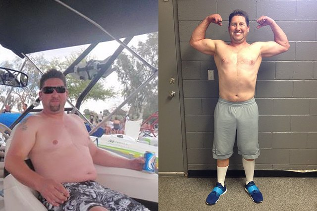 Sheftz lost 22 pounds but gained a love for lifting weights.