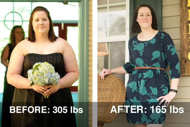 Lacey lost 140 pounds. Read her story below to find out how!