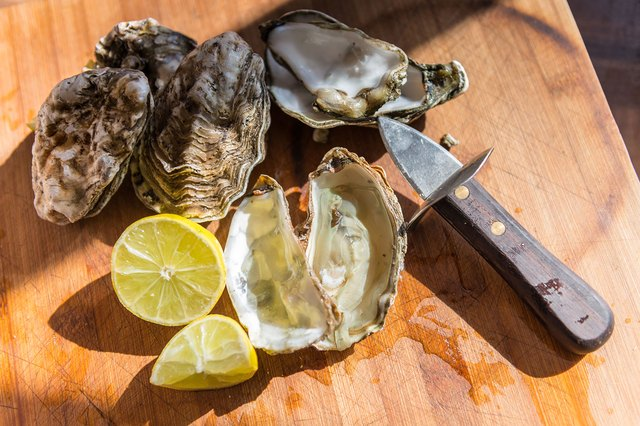 Farmed oysters are raised using healthy, sustainable methods.