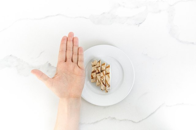 Use your palm to estimate protein portions.