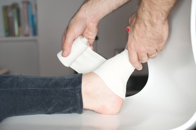 How To Wrap An Injured Foot Livestrong Com