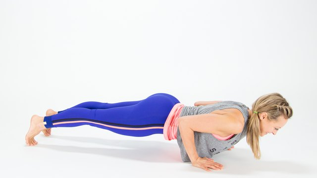 Center Chaturanga