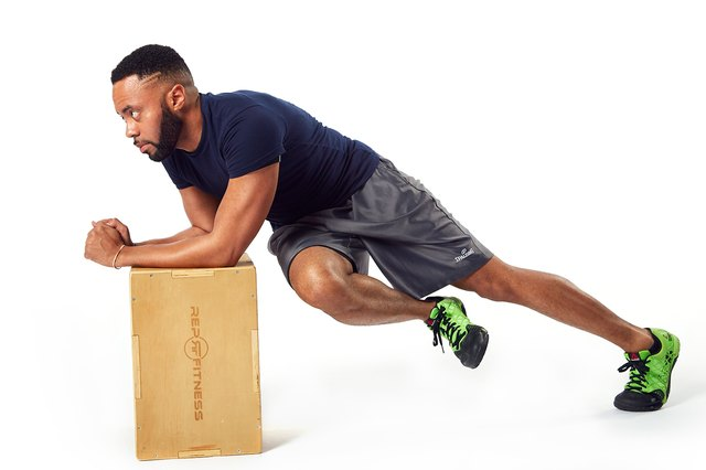 Take your plank up a notch by adding a twist.