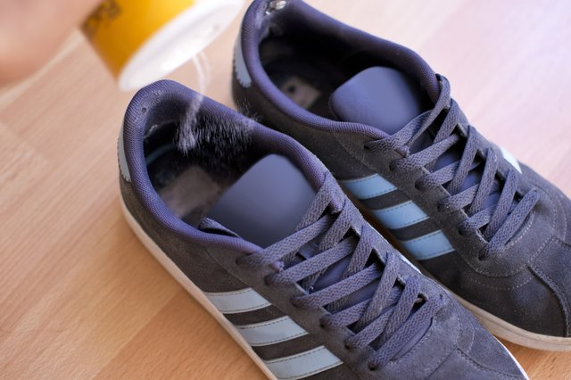 Sprinkle Baking Soda Inside The Shoes And Leave Them To Sit Overnight Will Absorb Odors In Morning Empty Into
