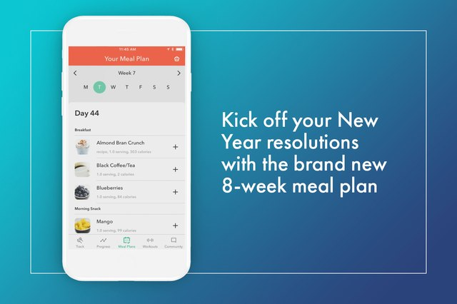 The all-new 8-Week Stronger Meal Plans give you healthy snacks, meals and recipes suggestions.