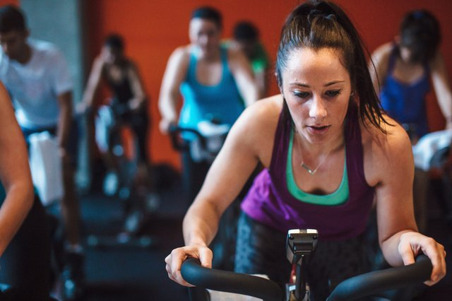 One benefit: Indoor cycling gives your body a break from running and other high-impact sports.