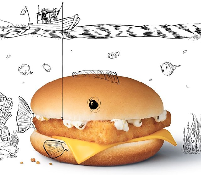 That tiny Filet-O-Fish sandwich packs in 20 grams of fat.