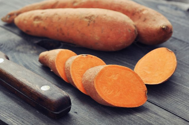 Sweet potatoes are much more nutritious than cassava.